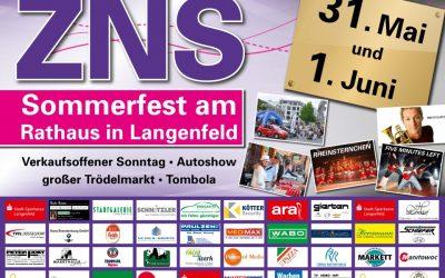ZNS Sommerfest 2014 – 31. Mai & 1. Juni
