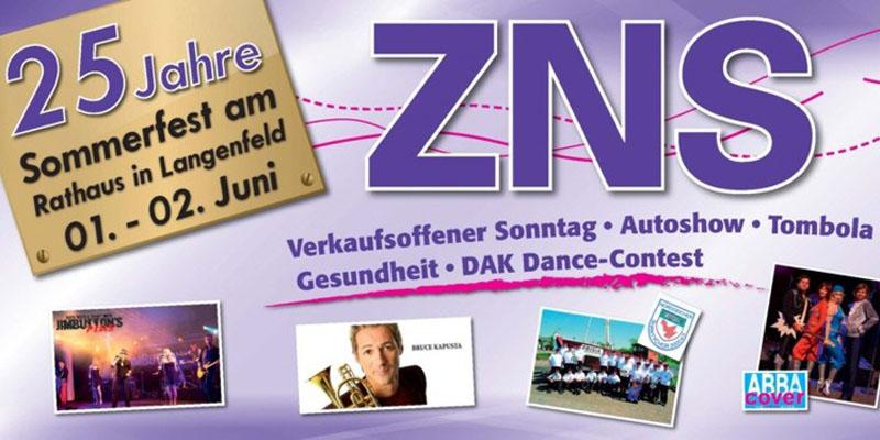 ZNS-Sommerfest in Langenfeld – 01. & 02. Juni 2013